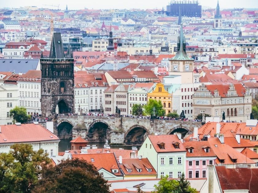 Prag kyrka och bro-24
