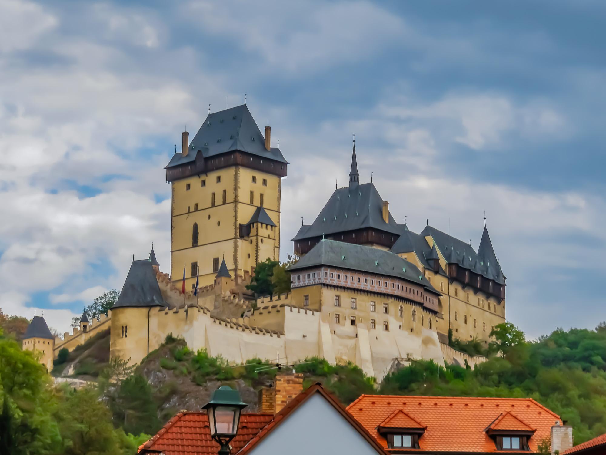 Prag slott